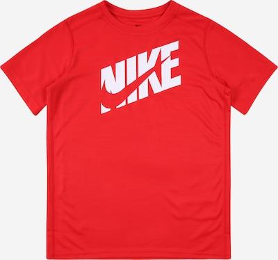 Nike Sportswear Shirt in hellrot / weiß, Produktansicht