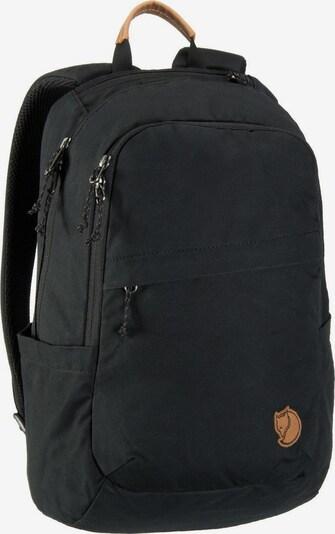 Fjällräven Rucksack 'Räven' in schwarz, Produktansicht