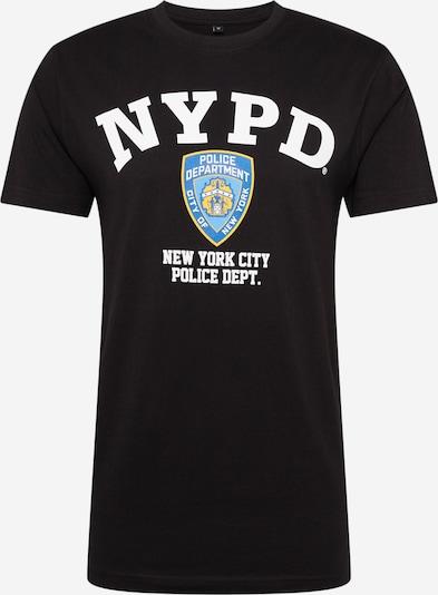 Mister Tee Shirts  'NYPD' in blau / schwarz / weiß, Produktansicht