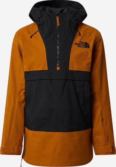 THE NORTH FACE Jacke 'Silvani' in senf / schwarz, Produktansicht