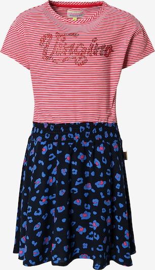 VINGINO Kleid 'Pendia' in blau / kobaltblau / melone / weiß, Produktansicht