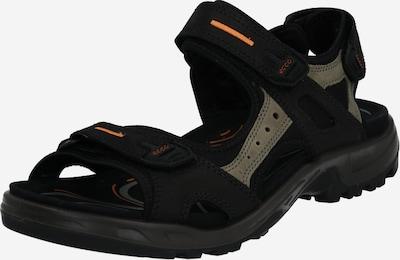 ECCO Sandale 'Offroad' in ecru / hellorange / schwarz, Produktansicht