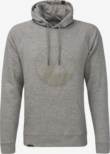 Lakeville Mountain Kapuzenpullover 'Davo Logo' in grau, Produktansicht