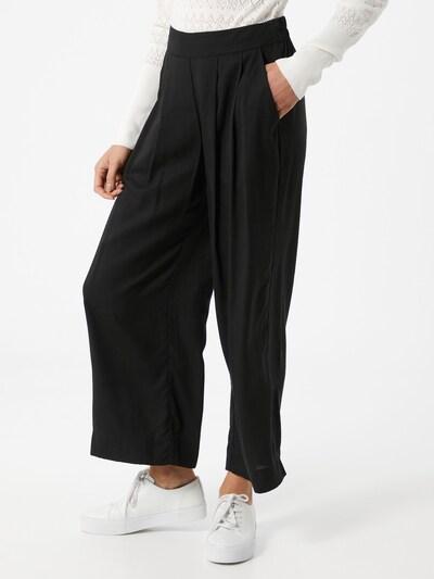 VILA Plisované nohavice - čierna, Model/-ka