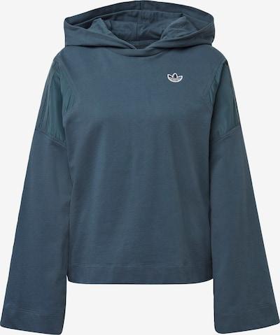 ADIDAS ORIGINALS Sweat-shirt en bleu-gris / blanc, Vue avec produit