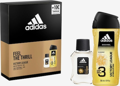 ADIDAS PERFORMANCE Pflegeset 'Victory League' in gold / schwarz, Produktansicht