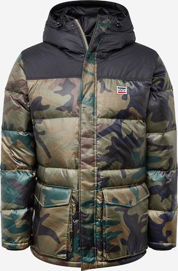 LEVI'S Winterjas in de kleur Bruin / Donkergroen, Productweergave