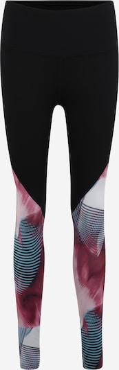 UNDER ARMOUR Leggings 'Rush' in lila / schwarz / weiß, Produktansicht