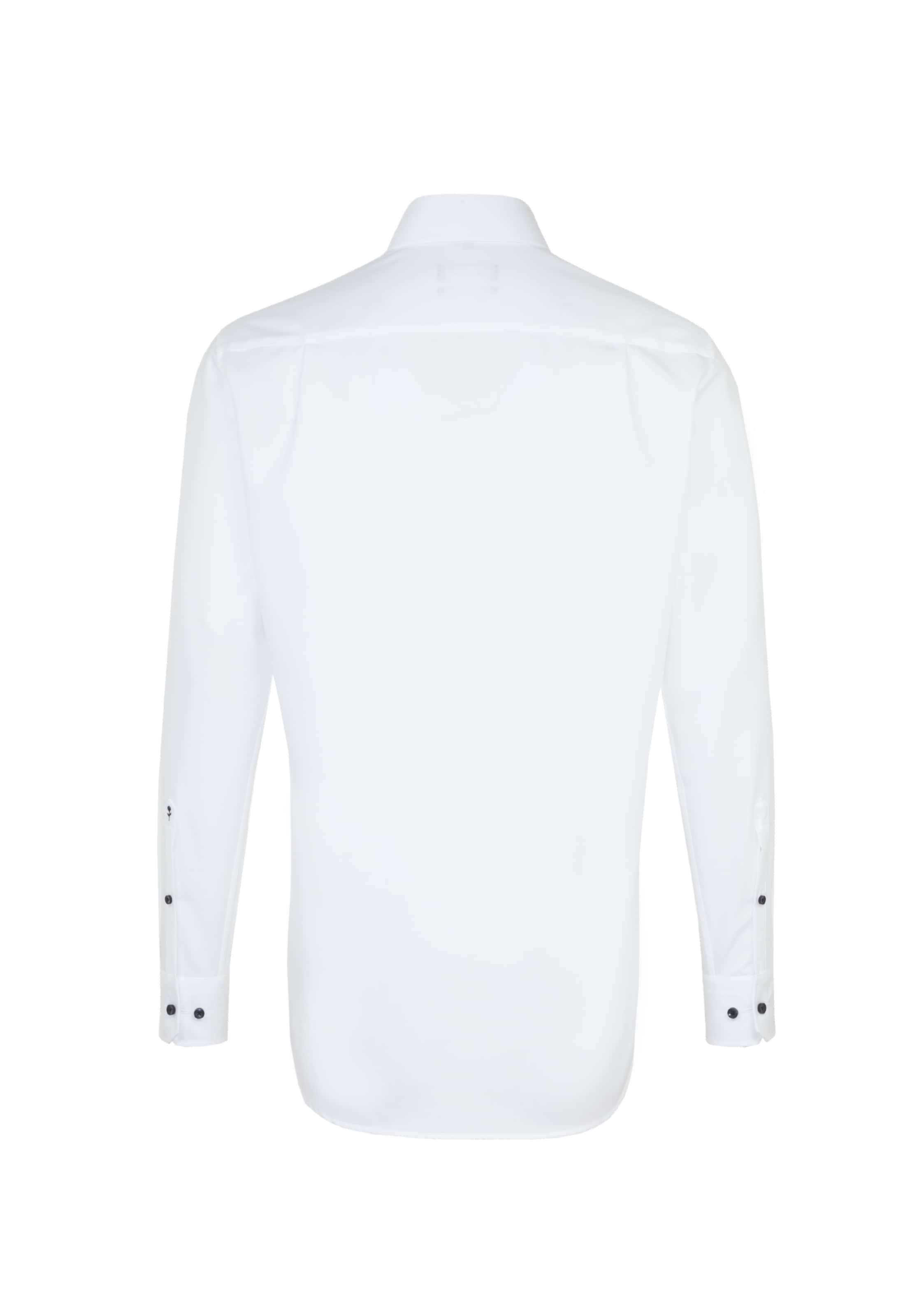 Chemise Blanc Seidensticker Business En 'modern' n0OvNw8m