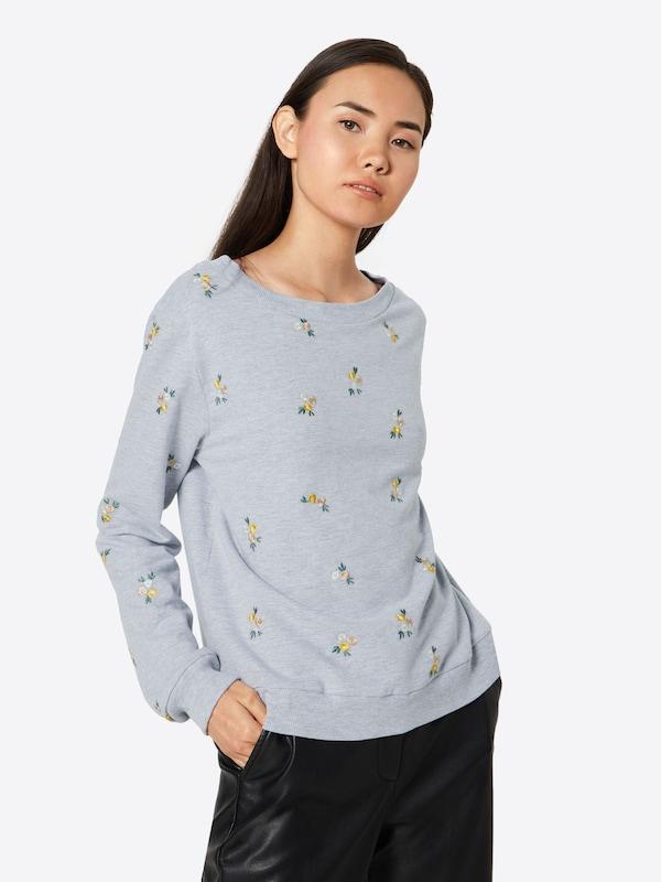 'luna' shirt En Sweat Sweat Sweat 'luna' En shirt Gris shirt Gris A5q3jL4R