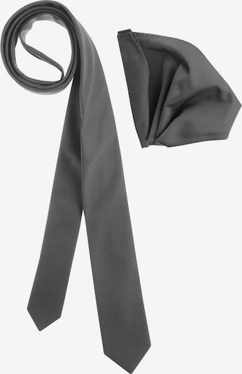 BRUNO BANANI Krawatten Set in graphit, Produktansicht