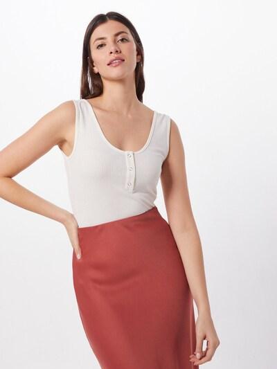 minimum Top 'Lionela in weiß, Modelansicht