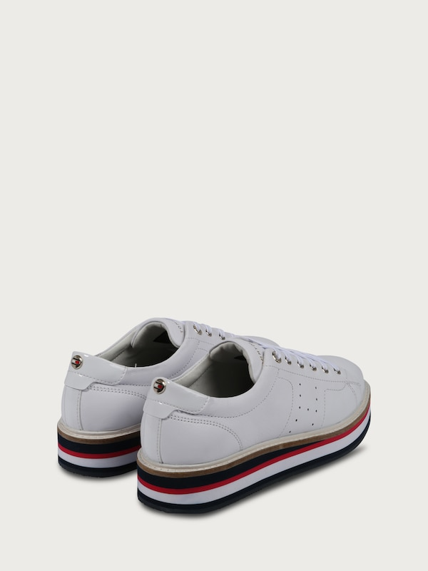 Hilfiger Sneaker Made Of Leather
