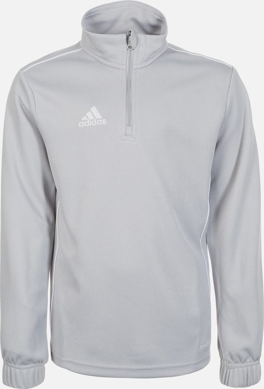 ADIDAS PERFORMANCE Trainingsshirt 'Core 18' in grau, Produktansicht