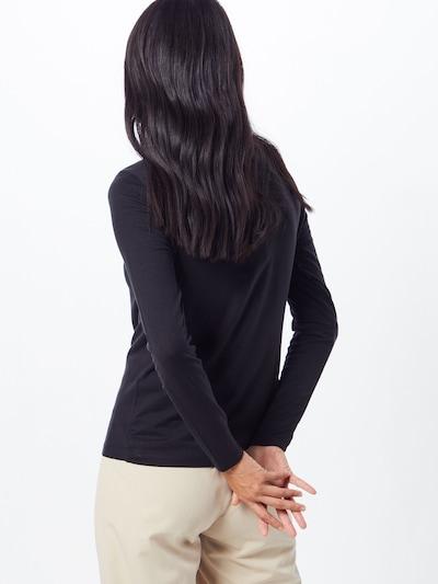 Marškinėliai 'VMAVA L/S TOP GA NOOS' iš VERO MODA , spalva - juoda: Vaizdas iš galinės pusės