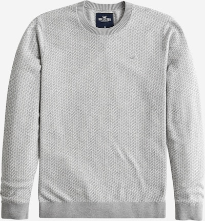 HOLLISTER Pulover u siva / bijela, Pregled proizvoda