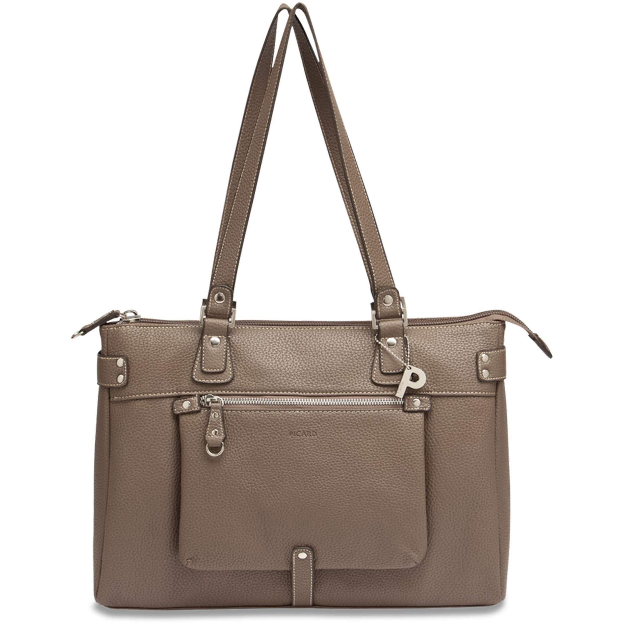 Loire Mokka Shopper Tasche 37 Picard Cm In A54jLq3R