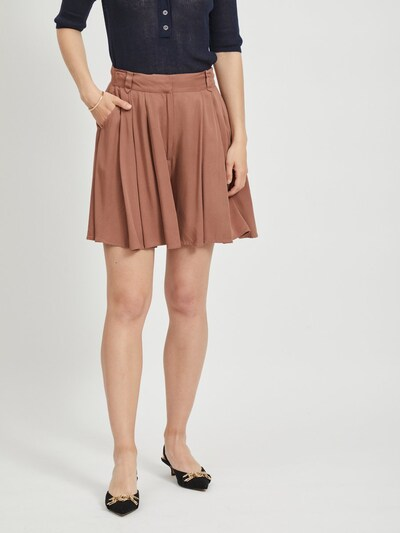 VILA Shorts in braun, Modelansicht