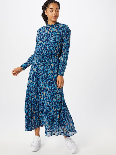 InWear Robe-chemise 'ClariceI' en beige / bleu / bleu clair: Vue de face