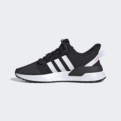 ADIDAS ORIGINALS Schuh 'U_Path Run' in schwarz / weiß, Produktansicht