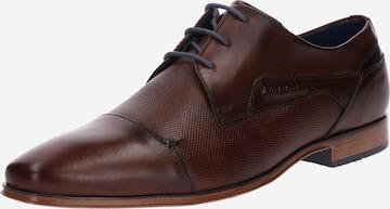 bugatti Lace-up shoe 'Morino' in Brown
