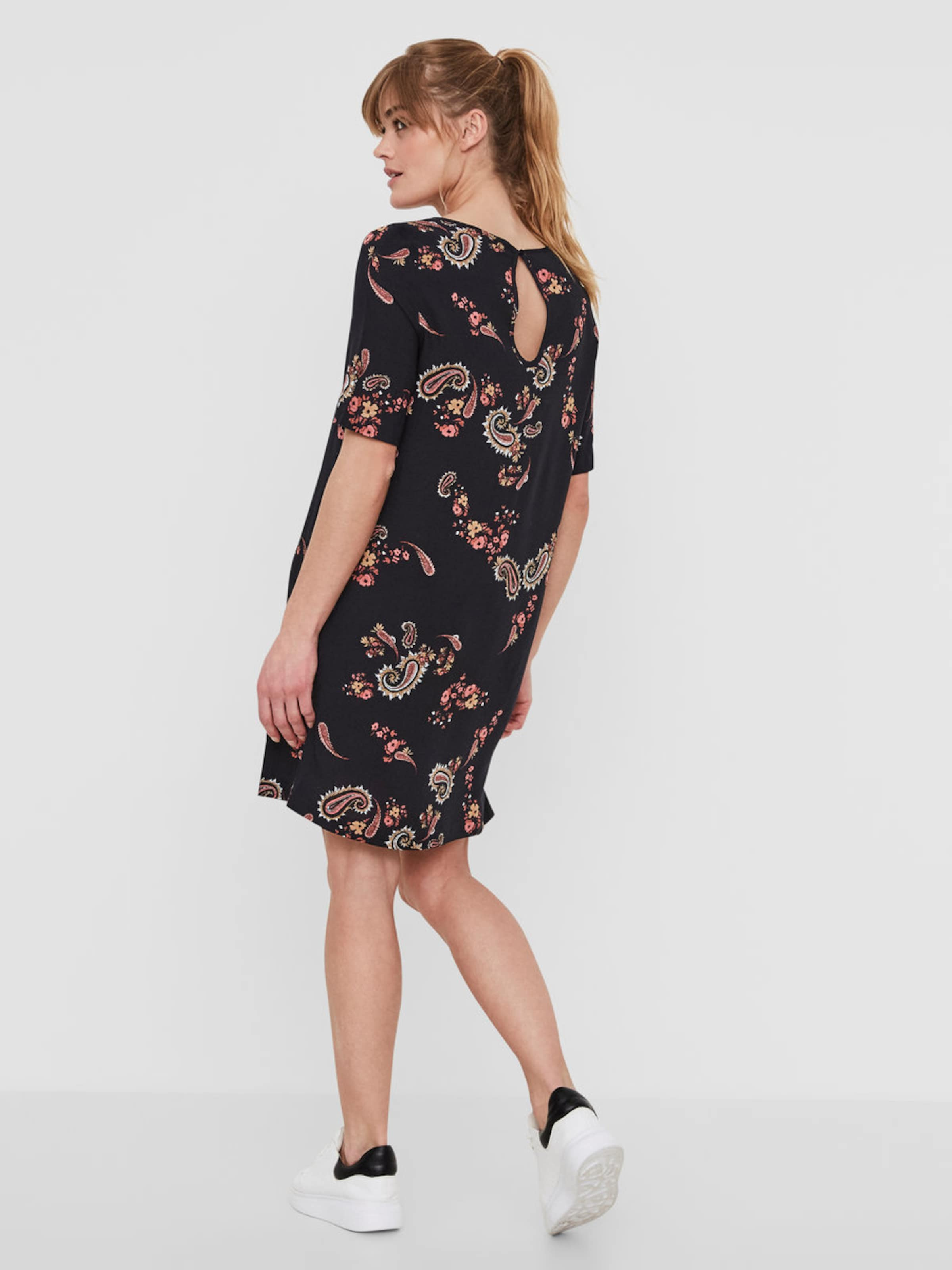 VERO MODA Lässiges Kleid mit kurzen Ärmeln Auslass Veröffentlichungstermine 2018 Neueste Online fTXuV