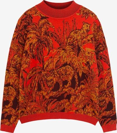 Desigual Trui 'Halifax' in de kleur Mosterd / Rood / Zwart, Productweergave