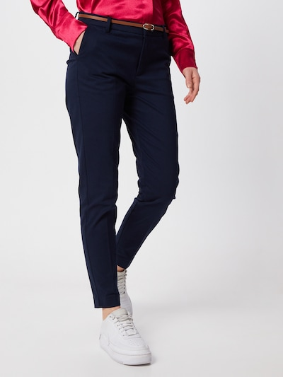 b.young Chino Pants 'Days cigaret' in Navy, View model