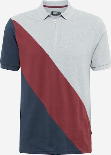 BURTON MENSWEAR LONDON Majica   mornarska / siva / rdeča barva, Prikaz izdelka