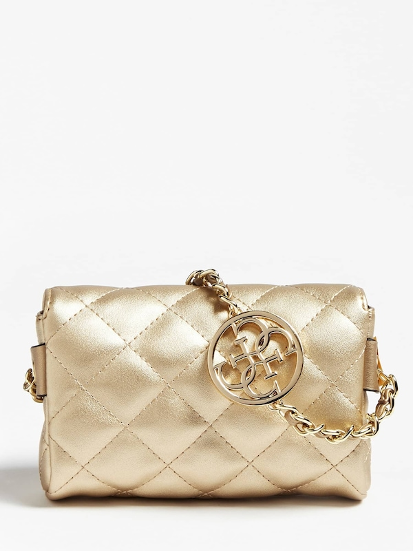 GUESS Tasche in gold rot | ABOUT YOU