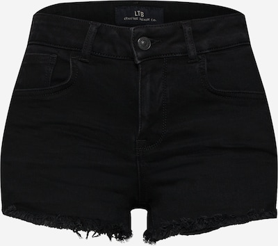 LTB Shorts 'Pamela' in black denim, Produktansicht