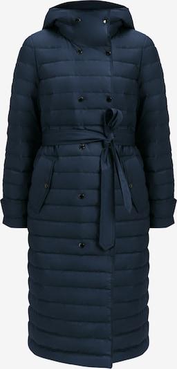 Finn Flare Wintermantel in de kleur Nachtblauw, Productweergave