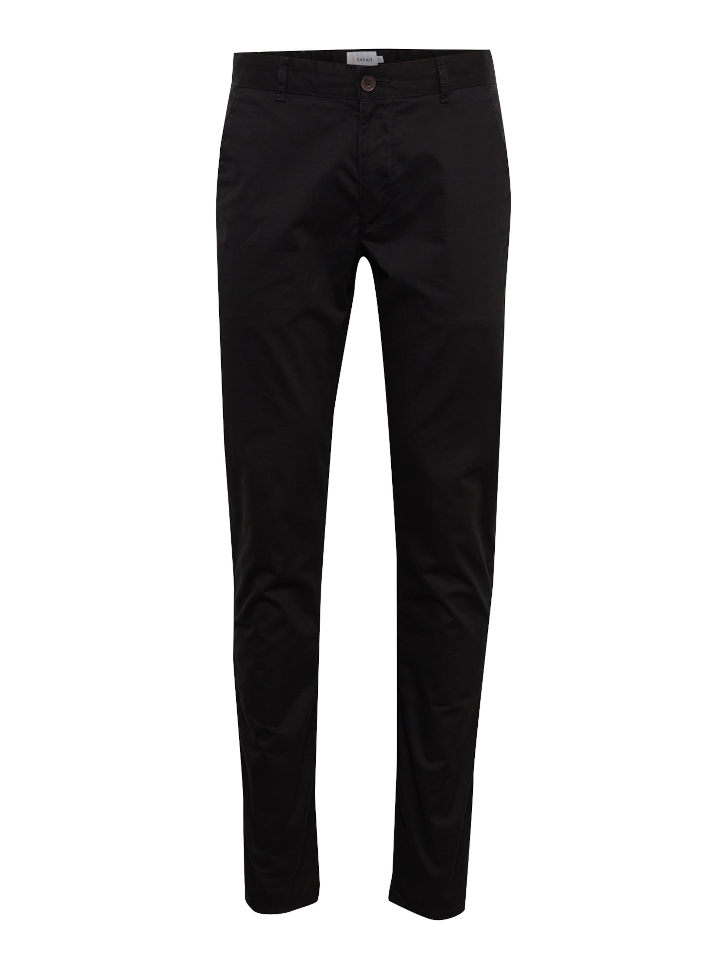 Chino 'elm' En Farah Noir Pantalon doWQBrCxe