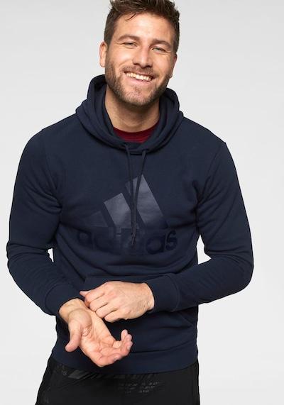 ADIDAS PERFORMANCE Sweatshirt in marine: Frontalansicht