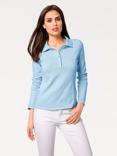 heine Pullover in opal: Frontal view