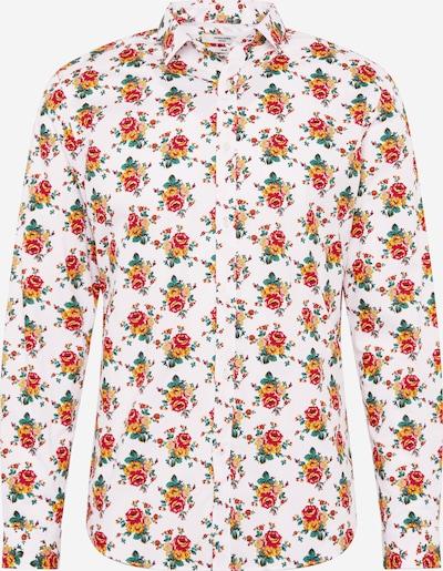 JACK & JONES Koszula w kolorze czerwony / białym, Podgląd produktu