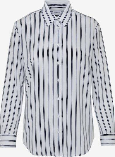 SEIDENSTICKER Bluse in kobaltblau / weiß, Produktansicht