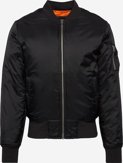 Urban Classics Prehodna jakna | črna barva, Prikaz izdelka