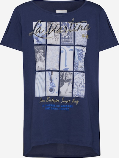 La Martina Shirt in navy, Produktansicht