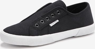 LASCANA Sneakers in Black
