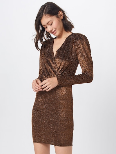 Moves Cocktailkleid 'Atalja' in bronze: Frontalansicht