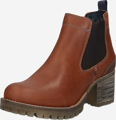 BULLBOXER Chelsea Boots in cognac: Frontalansicht