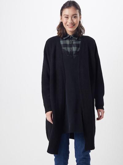 Farina Opoku Strickjacke 'Nandini' in schwarz, Modelansicht