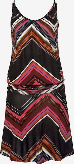 LASCANA Strandkleid in mischfarben / schwarz, Produktansicht