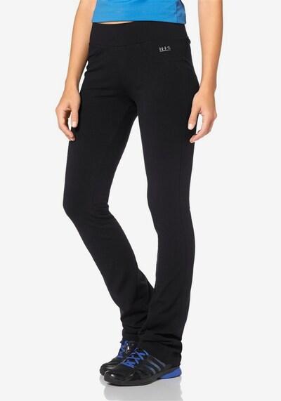 H.I.S Jazzpants in schwarz, Modelansicht