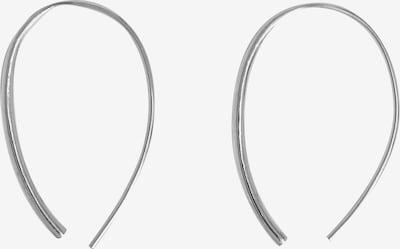 EDITED Boucles d'oreilles 'Femke' en argent, Vue avec produit