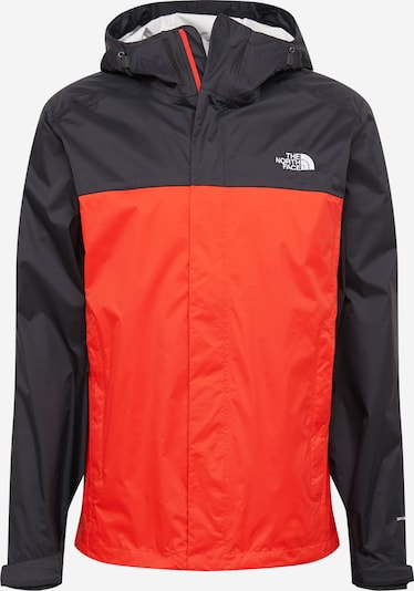 THE NORTH FACE Sportjas 'VENTURE' in de kleur Rood / Zwart, Productweergave