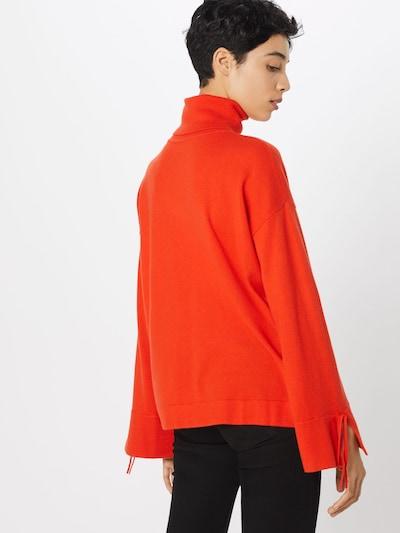 BOSS Pullover 'Iwanna' in orangerot: Rückansicht