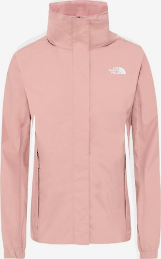THE NORTH FACE Funktionsjacke 'Resolve 2' in pink / weiß, Produktansicht