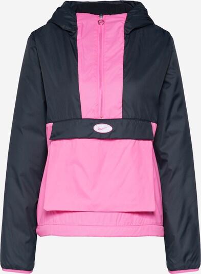 Nike Sportswear Jacke in pink / schwarz, Produktansicht